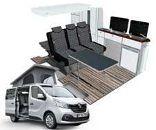 Vybavenie pre Renault Trafic/Opel Vivaro/Nissan NV300/Fiat Talento