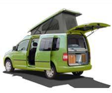 Mini Camper prestavby -Berlingo, Kango