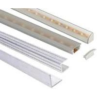 Profily hliníkové uhlové, PVC, LED a U profily