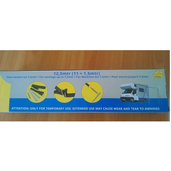 Šponovacie pásy- TENTSAFE Kit Black