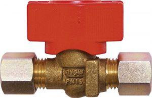 TGO Uzatvárací ventil 2 x SRV 8