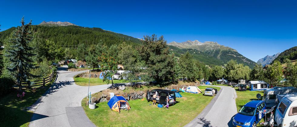 Sölden, Camping Sölden