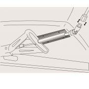 AL-KO Comfort-Kit  pre otočné podpery so šesťhranom SW 19