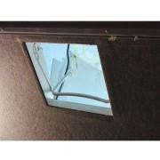 Demontovana vnútorna časť okna,