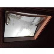 Demontovana vnútorna časť okna.