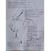 MoCa-Hubmatic podperné nohy + kľuka,,