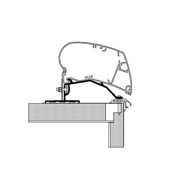 Strešný adaptér pre markízu Thule 500cm