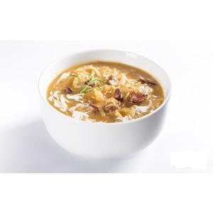 Kapustová polievka s klobásou