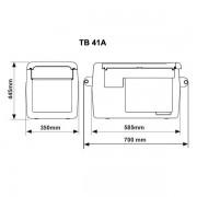 Webasto Kompresorový chladiaci box 50L 3