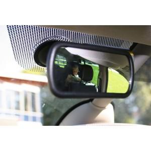 Dodatočné zrkadlo, Dodatočné zrkadlo s prísavkou na čelné sklo alebo palubnú dosku