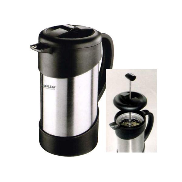 Kávovar CAFETIERE ocelový 1 L