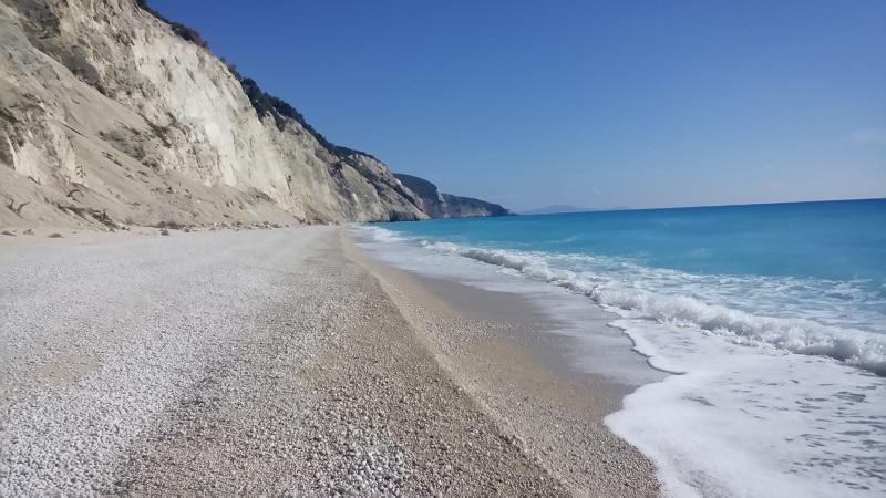 Egremni beach,