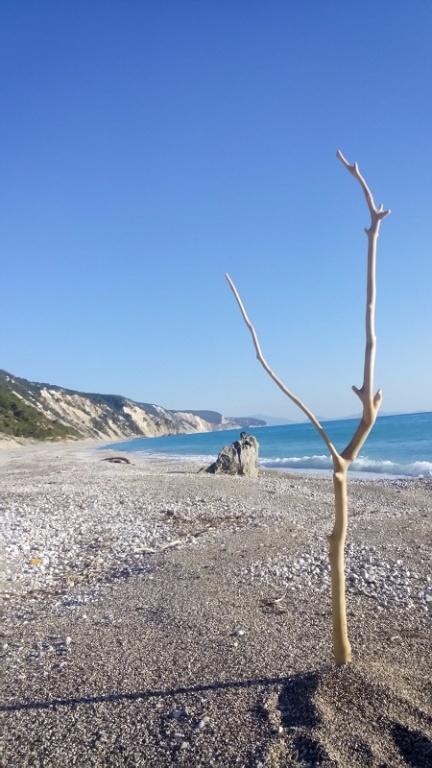 Gialos beach.