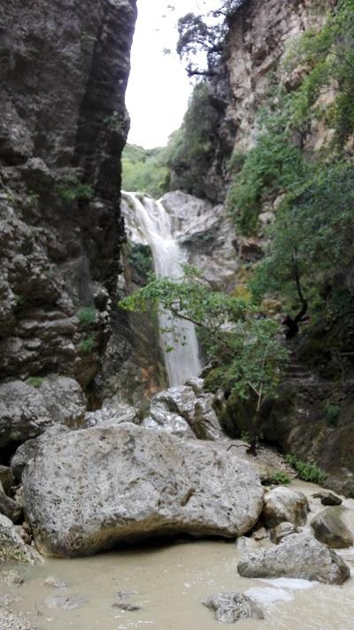 Vodopády Lefkada-Nidri