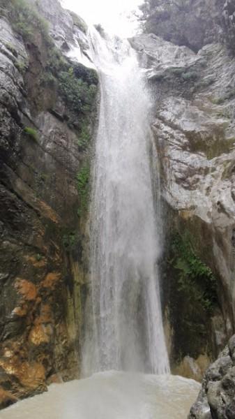 Vodopády Lefkada.