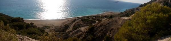 pohľad na Gialos beach
