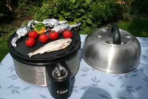 Plynový gril Cobb