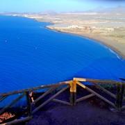 Pohľad z Montna Roja na Le Tejita