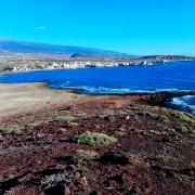 Pohľad z Monatana Roja na El Medano
