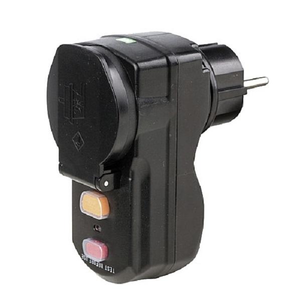 Bezpečnostná zásuvka s ističom, 230V/16A