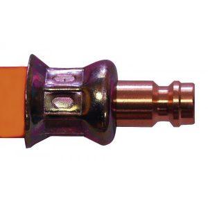 Plynová hadica odolná voči mrazu pre obytné prívesy.
