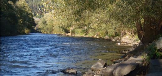 splav rieky hron