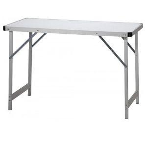 Veľký hliníkový stôl Belsol campový