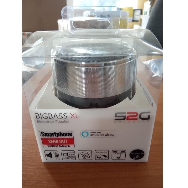 Bluetooth reproduktor Bigbass XL.