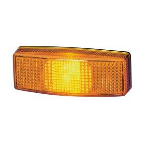 zlte obrysove svetlo na karavan