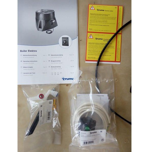 Truma elektro bojler 14l, 12V, 230V 850W.