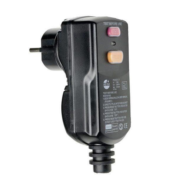 Osobný ochranný adaptér PRCD 230V