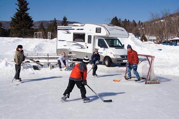 karavan v zimeII