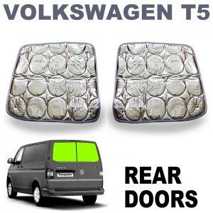 folia VW T5 zadne dvere