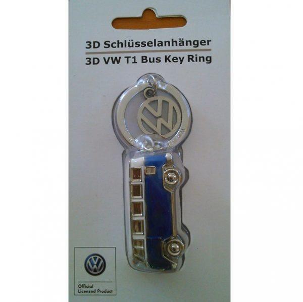 VW T1 Bus Kľúčenka 3D