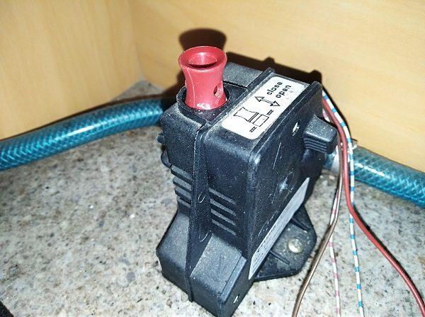 Starý vypúšťací ventil