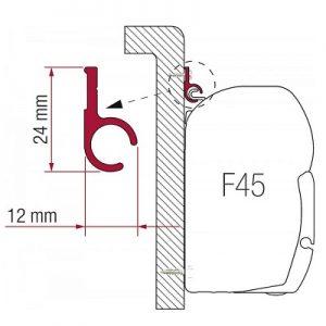 MARKIZA_Adapter_Fiamma_F45_Rail_400_cm