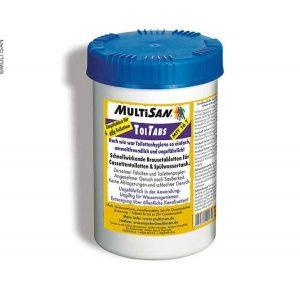 Tablety pre toalety a odpadové nádrže MultiSan 16ks