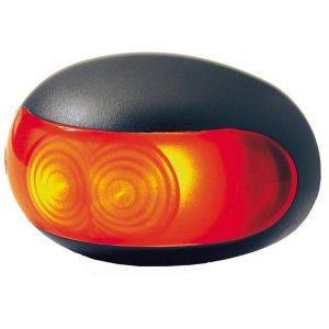 Obrysové svetlo Hella LED, červené, osvetlenie privesov a karavanov