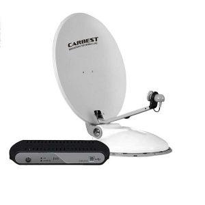 Automatický satelitný systém CARBEST Travelsat 68 s Astra, vrátane riadiacej jednotky