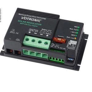 Votronic solárny regulátor MPP-technológia, solárny regulátor pre solárne panely do karavanu