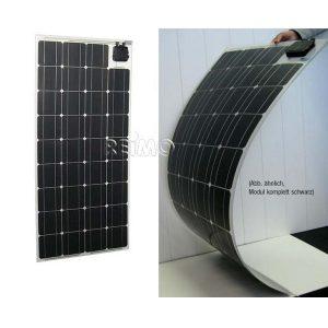 Flexibilný solárny modul CARBEST Power Panel Flex 12V, solárny panel pre karavany, prívesy