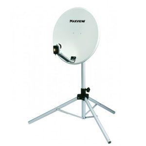 Satelitný systém MaxView Portable Kit Light, presnosný satelitny system pre kempovanie, karavany