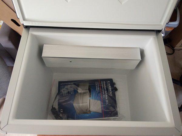 Absorbčná chladnička Carbest,,