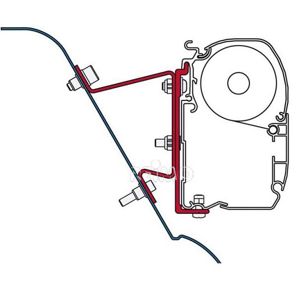 Adaptér pre markízu Fiamma F45S, F45L pre Sprinter, Westfalia, Crafter