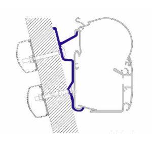 Adaptér pre markízu Dometic Perfect Wall pre Fiat Ducato