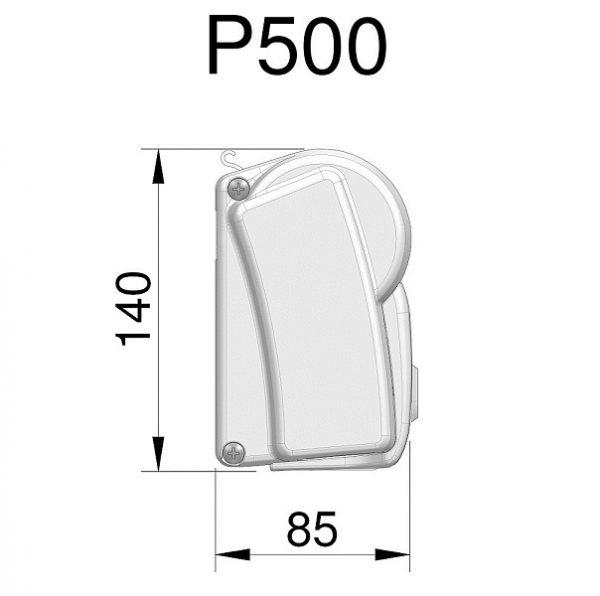 Markíza Dometic Perfect Wall 1500 (Prostor 500)