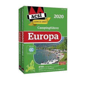 Sprievodca kempingom ACSI Europe 2020