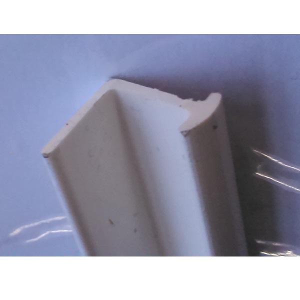 Lišta na záclonu - T-profil