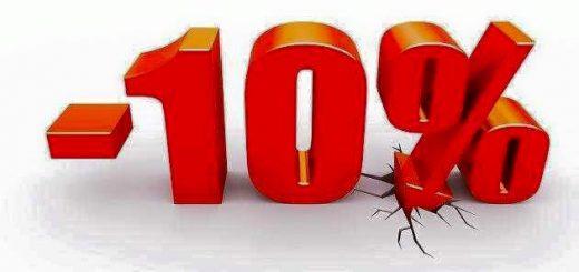 - 10 % Akcia