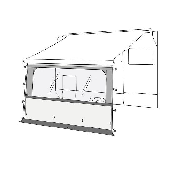 Clona Pro 350 pre F45/F65/F80/CaravanStore - predný panel s oknom